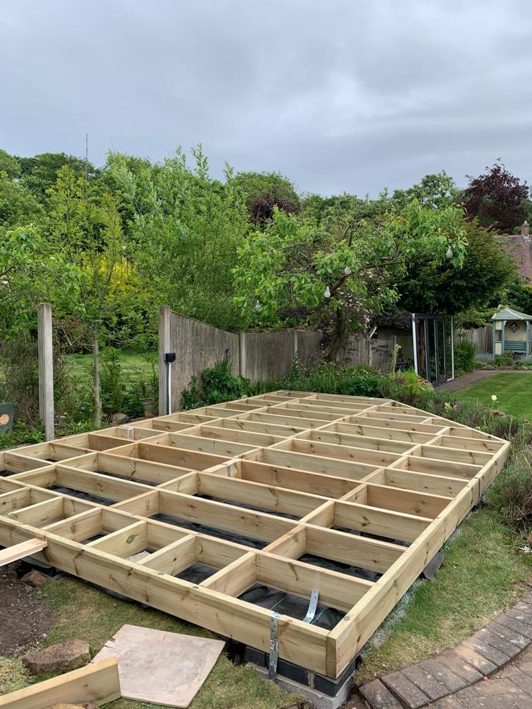 summerhouse foundations