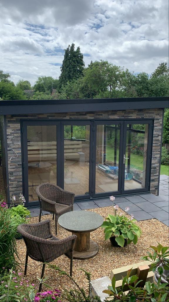 summerhouse stone patio